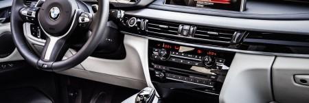 BMW X6 Cockpit - BMW Ottobrunn
