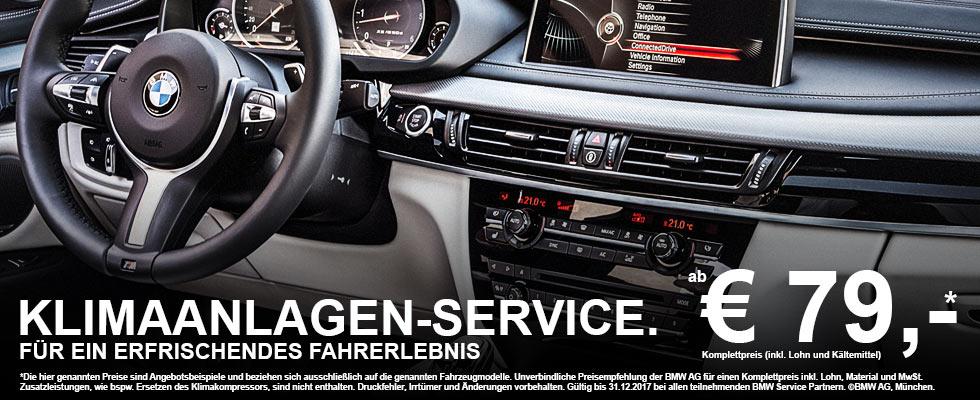 BMW Klimaanlage - BMW Klimaanlagen-Service & Funktionstest