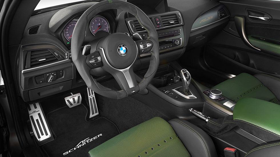 AC Schnitzer ACL2S BMW grün Lenkrad - Autohaus Hagl