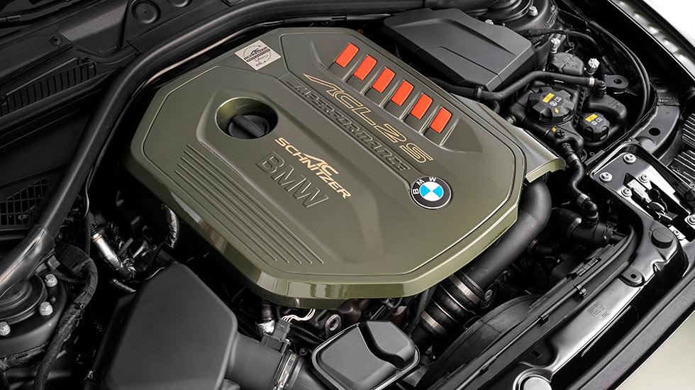 AC Schnitzer ACL2S BMW grün Motor - Autohaus Hagl