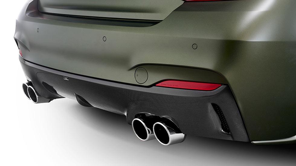 AC Schnitzer ACL2S BMW grün Auspuff - Autohaus Hagl
