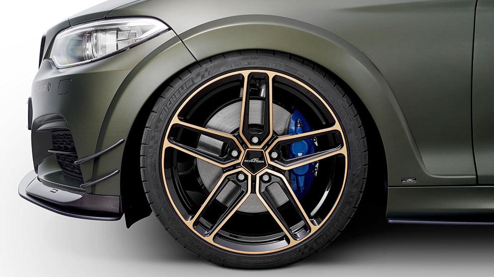 AC Schnitzer ACL2S BMW grün Felgen - Autohaus Hagl