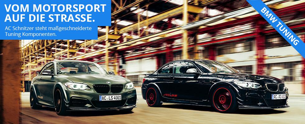BMW Tuning von AC Schnitzer bei Autohaus Hagl in Ottobrunn