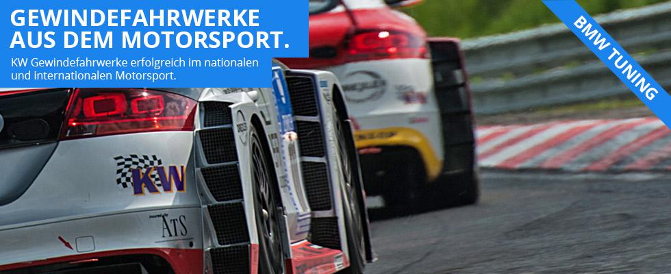 BMW Gewindefahrwerke von KW Automotive bei Autohaus Hagl in Ottobrunn