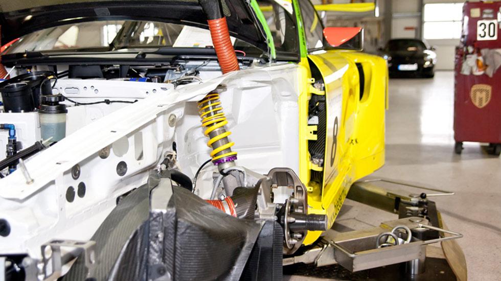 KW Automotive Gewindefahrwerke Einbau