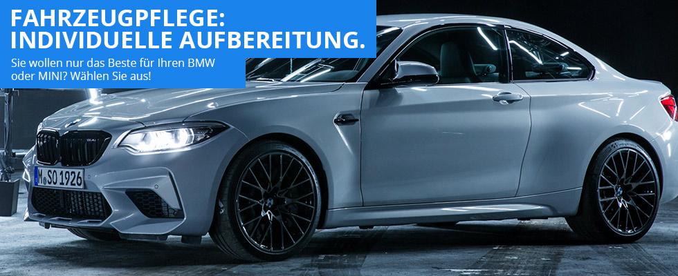 BMW Fahrzeugaufbereitung - Reinigung, Pflege und Konservierung in Ottobrunn